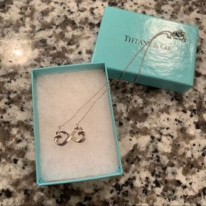 AUTHENTIC Tiffany Infinity heart necklace❤️